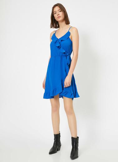 Koton Elbise Mavi